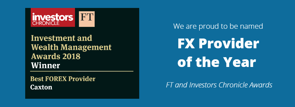 Caxton - FX Provider of the Year